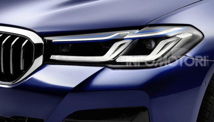 Nuova BMW Serie 5 2020: look sportivo e interni raffinati - Foto 7 di 32