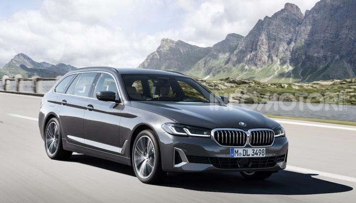 Nuova BMW Serie 5 2020: look sportivo e interni raffinati - Foto 12 di 32