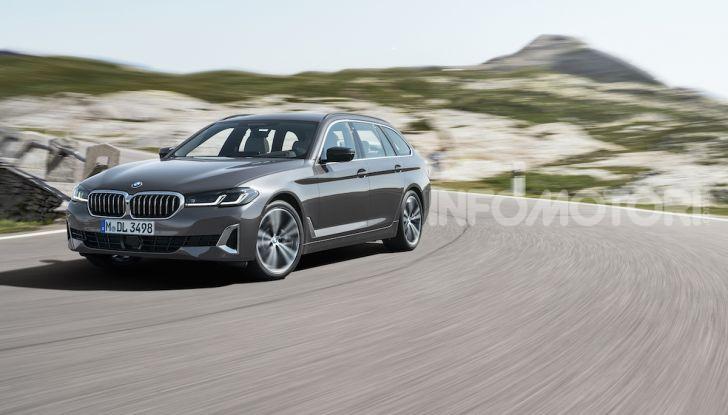 Nuova BMW Serie 5 2020: look sportivo e interni raffinati - Foto 13 di 32