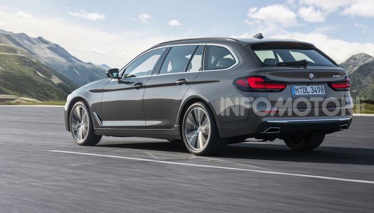Nuova BMW Serie 5 2020: look sportivo e interni raffinati - Foto 14 di 32