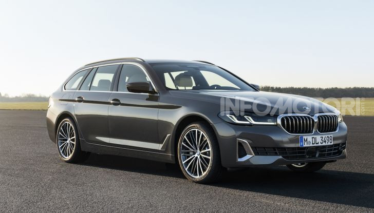 Nuova BMW Serie 5 2020: look sportivo e interni raffinati - Foto 15 di 32