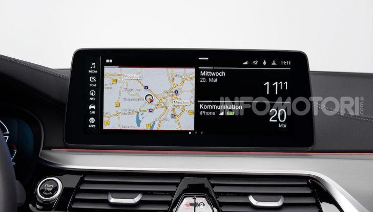 Nuova BMW Serie 5 2020: look sportivo e interni raffinati - Foto 19 di 32