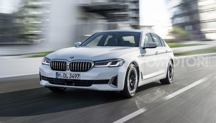 Nuova BMW Serie 5 2020: look sportivo e interni raffinati - Foto 23 di 32