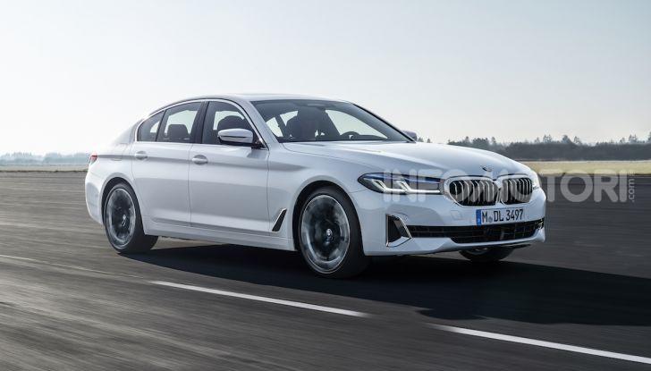 Nuova BMW Serie 5 2020: look sportivo e interni raffinati - Foto 25 di 32