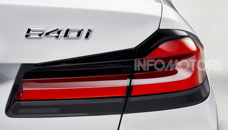 Nuova BMW Serie 5 2020: look sportivo e interni raffinati - Foto 27 di 32