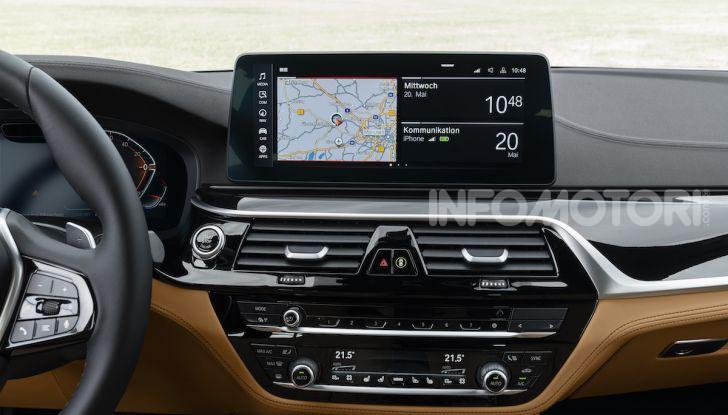 Nuova BMW Serie 5 2020: look sportivo e interni raffinati - Foto 29 di 32
