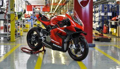 Ducati avvia la produzione della Superleggera V4
