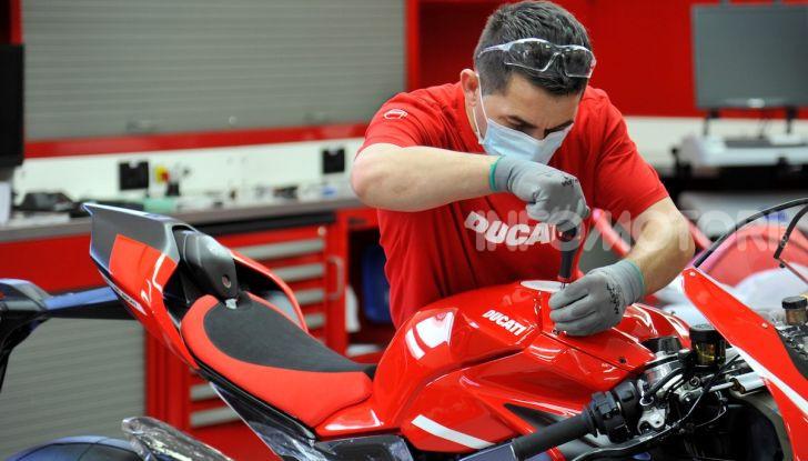 Ducati avvia la produzione della Superleggera V4 - Foto 5 di 8