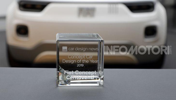 Fiat Concept Centoventi trionfa ai Car Design Awards 2019 - Foto 3 di 8