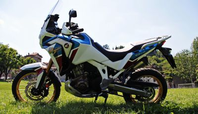 Prova Honda Africa Twin 1100 Adventure Sports: regina su strada e off-road