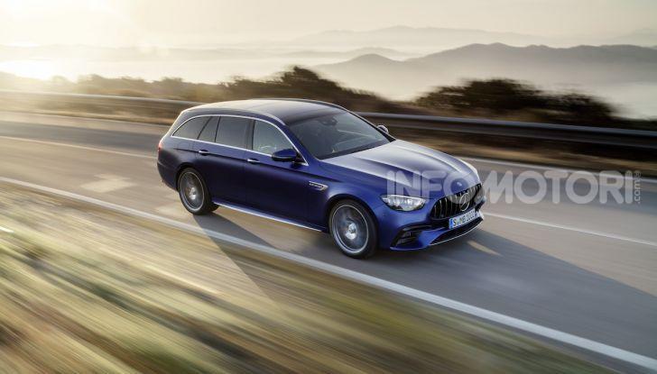 Mercedes-AMG E 63 4MATIC: berlina e station wagon fanno rima con prestazioni e comfort - Foto 1 di 51