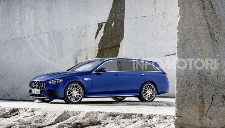 Mercedes-AMG E 63 4MATIC: berlina e station wagon fanno rima con prestazioni e comfort - Foto 11 di 51
