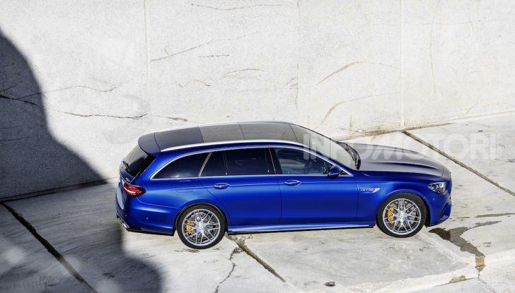 Mercedes-AMG E 63 4MATIC: berlina e station wagon fanno rima con prestazioni e comfort - Foto 12 di 51