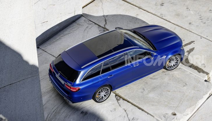 Mercedes-AMG E 63 4MATIC: berlina e station wagon fanno rima con prestazioni e comfort - Foto 13 di 51