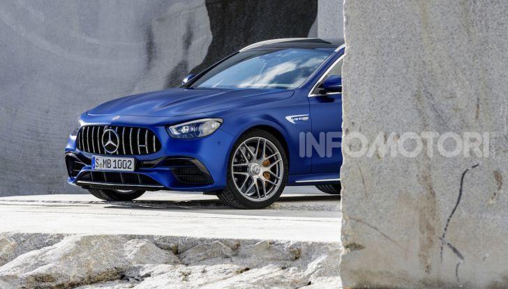 Mercedes-AMG E 63 4MATIC: berlina e station wagon fanno rima con prestazioni e comfort - Foto 14 di 51