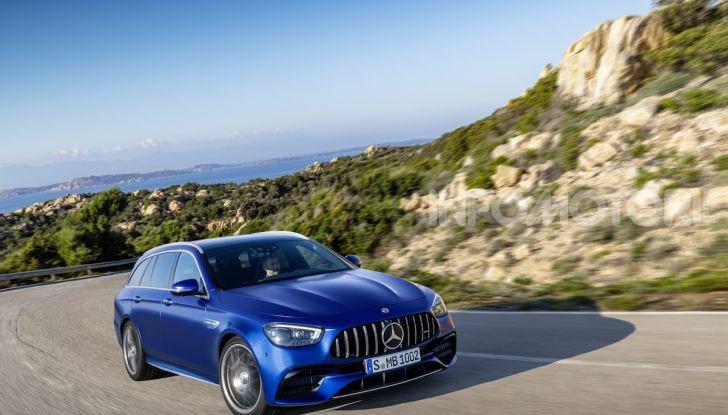 Mercedes-AMG E 63 4MATIC: berlina e station wagon fanno rima con prestazioni e comfort - Foto 17 di 51