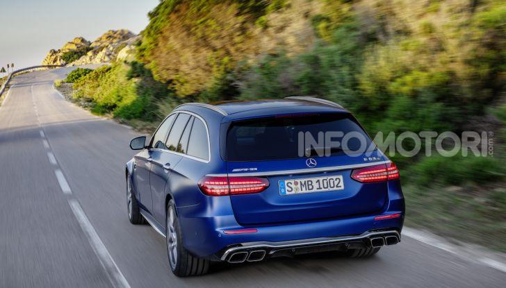 Mercedes-AMG E 63 4MATIC: berlina e station wagon fanno rima con prestazioni e comfort - Foto 20 di 51