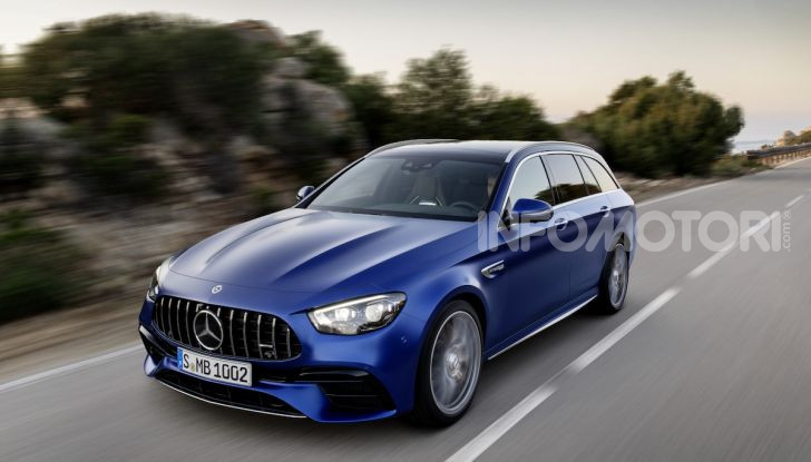 Mercedes-AMG E 63 4MATIC: berlina e station wagon fanno rima con prestazioni e comfort - Foto 21 di 51