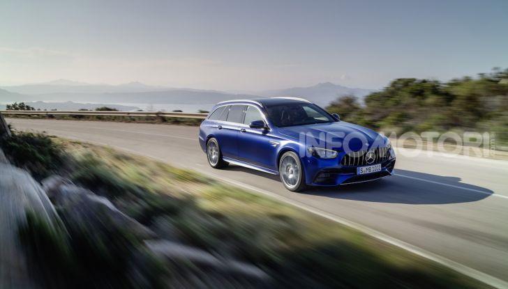Mercedes-AMG E 63 4MATIC: berlina e station wagon fanno rima con prestazioni e comfort - Foto 3 di 51