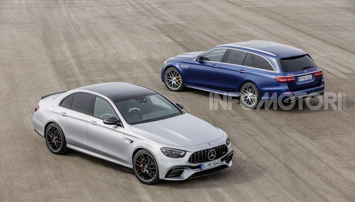 Mercedes-AMG E 63 4MATIC: berlina e station wagon fanno rima con prestazioni e comfort - Foto 30 di 51