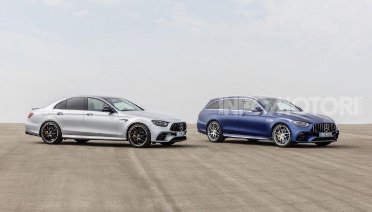 Mercedes-AMG E 63 4MATIC: berlina e station wagon fanno rima con prestazioni e comfort - Foto 31 di 51