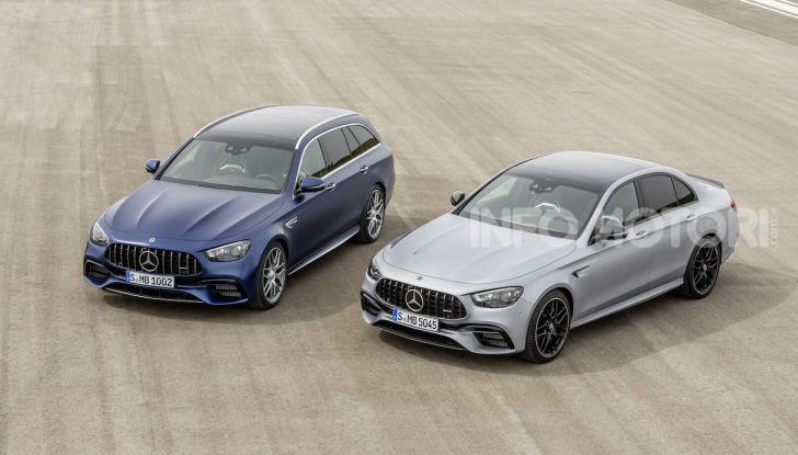 Mercedes-AMG E 63 4MATIC: berlina e station wagon fanno rima con prestazioni e comfort - Foto 32 di 51