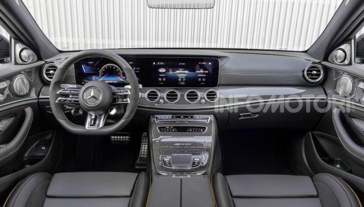 Mercedes-AMG E 63 4MATIC: berlina e station wagon fanno rima con prestazioni e comfort - Foto 35 di 51