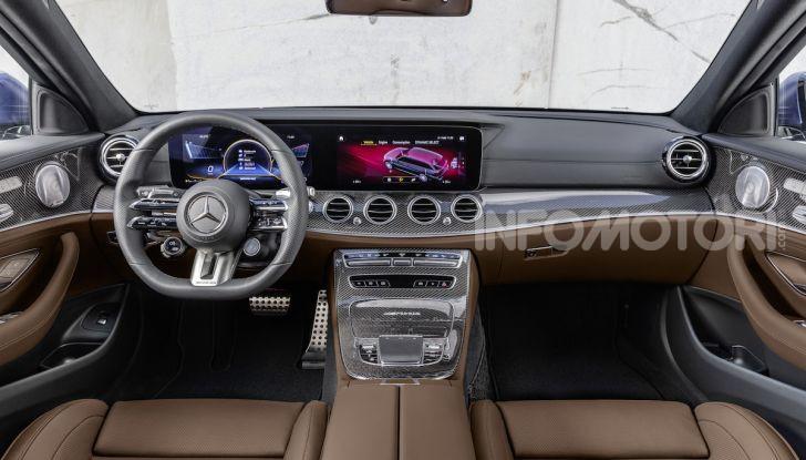 Mercedes-AMG E 63 4MATIC: berlina e station wagon fanno rima con prestazioni e comfort - Foto 5 di 51