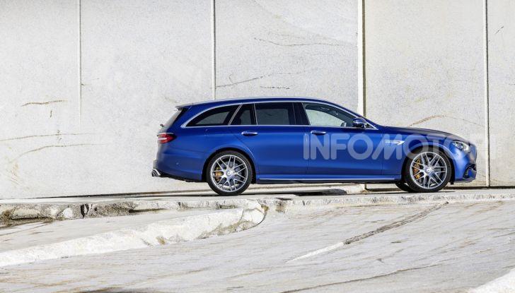 Mercedes-AMG E 63 4MATIC: berlina e station wagon fanno rima con prestazioni e comfort - Foto 6 di 51