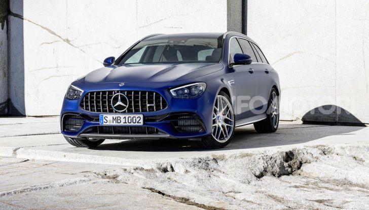 Mercedes-AMG E 63 4MATIC: berlina e station wagon fanno rima con prestazioni e comfort - Foto 9 di 51