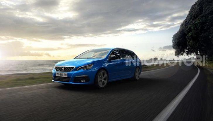 Peugeot 308: la versione 2020 è ancora più spaziosa e tecnologica - Foto 12 di 12