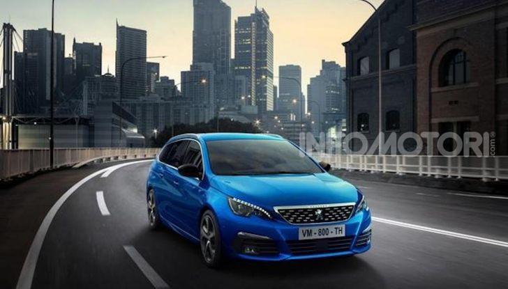 Peugeot 308: la versione 2020 è ancora più spaziosa e tecnologica - Foto 7 di 12