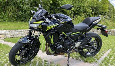 Prova Kawasaki Z650: la media giapponese adatta a tutti