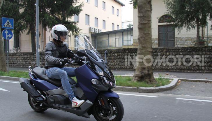 Prova Sym Maxsym 500 TL: il compagno di viaggio per tutti i giorni - Foto 2 di 40