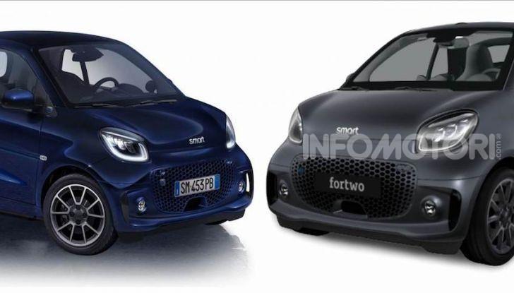 Smart ForTwo EQ Parisblue e Cabrio EQ Suitegrey, le nuove serie speciali - Foto 1 di 4