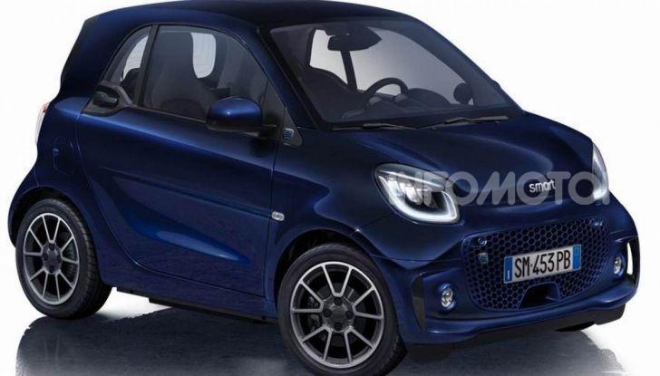 Smart ForTwo EQ Parisblue e Cabrio EQ Suitegrey, le nuove serie speciali - Foto 3 di 4