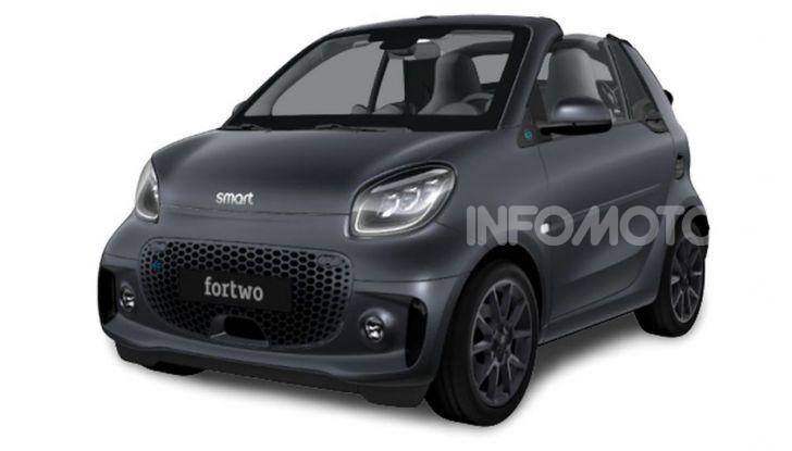 Smart ForTwo EQ Parisblue e Cabrio EQ Suitegrey, le nuove serie speciali - Foto 4 di 4
