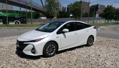 Toyota Prius Plug-in Hybrid: test drive, autonomia, prestazioni