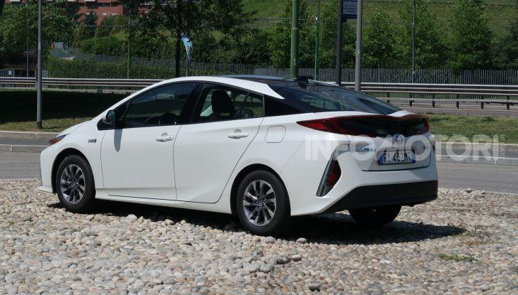 Toyota Prius Plug-in Hybrid: test drive, autonomia, prestazioni - Foto 20 di 36