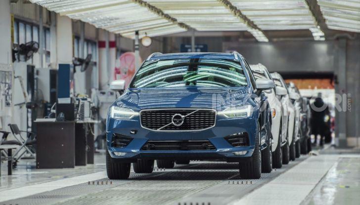 Volvo: nello stabilimento di Chengdu utilizzata il 100% di elettricità pulita - Foto 2 di 4