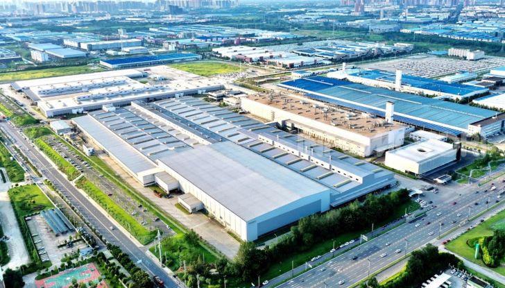 Volvo: nello stabilimento di Chengdu utilizzata il 100% di elettricità pulita - Foto 3 di 4