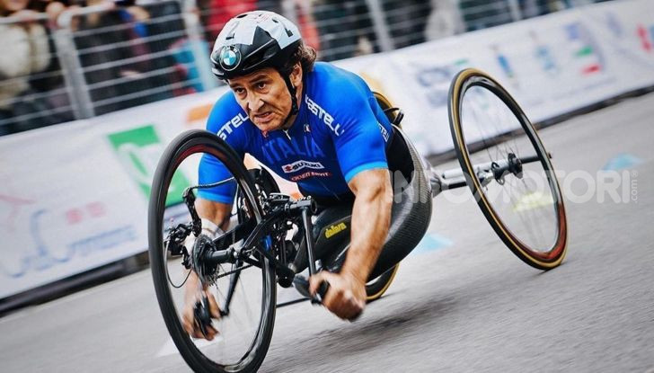 Alex Zanardi incidente handbike 2020