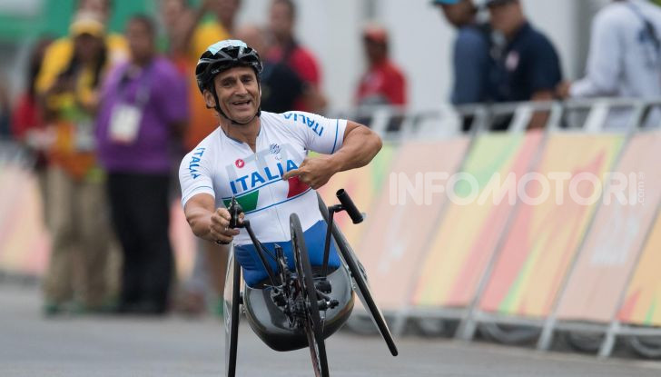 Alex Zanardi incidente handbike 2020