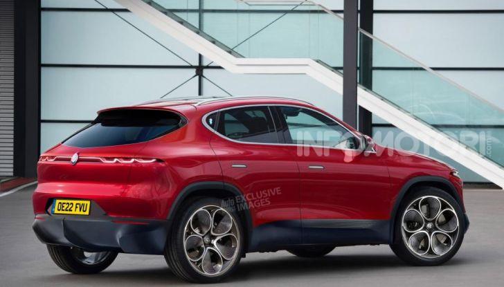 Alfa Romeo elettrica 2022