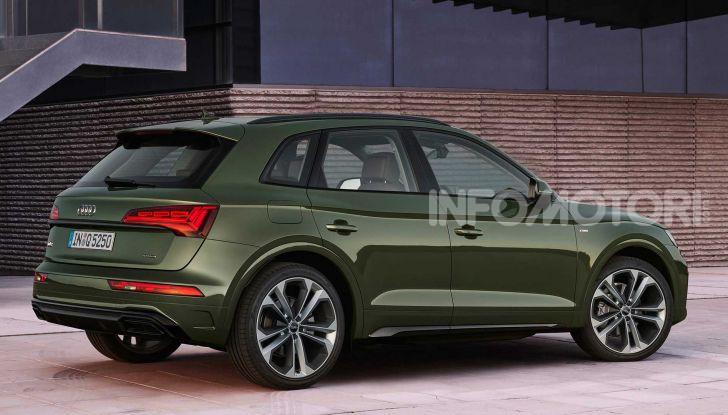 Audi Q5 restyling 2021