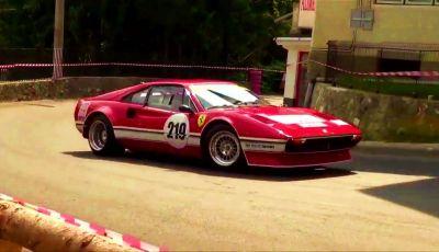 Ferrari 308 GTB Group 4 da rally: il video della cronoscalata!