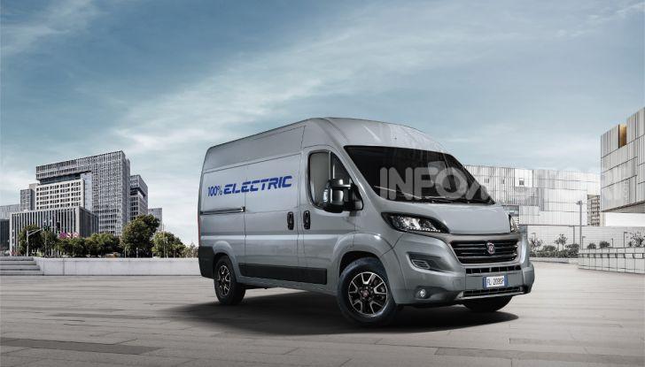 Fiat E-Ducato elettrico 2020