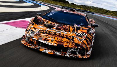 Lamborghini SCV12: 830 cavalli e aerodinamica da GT3 senza roll-cage