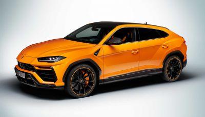 Lamborghini Urus: il Model Year 2021 con gamma colori Pearl Capsule