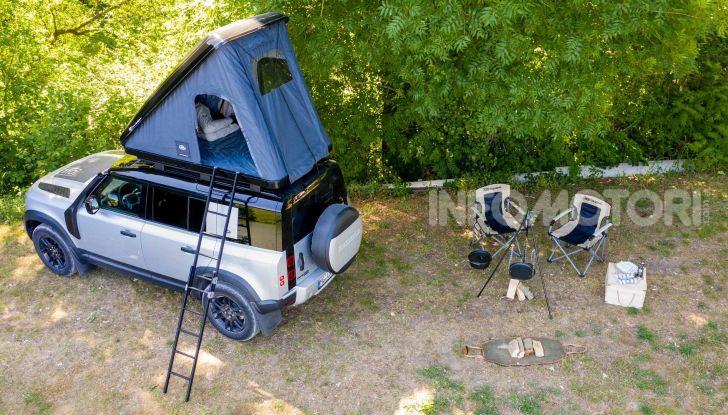 Land Rover Defender 110 tenda tetto rooftop Autohome